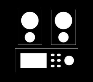 Logo seccion ingeniería musical equipos de audio