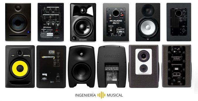 mejores monitores de estudio ingenieria musical