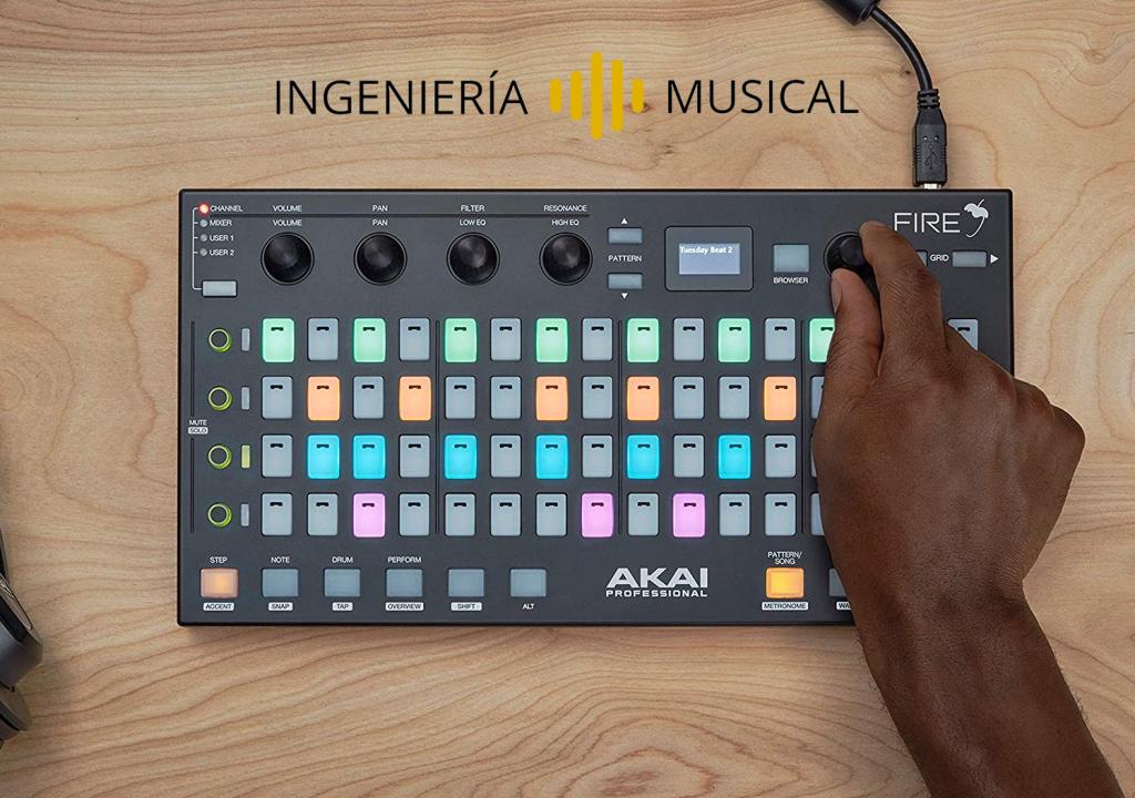 AKAI Fire: El mejor controlador MIDI del 2020