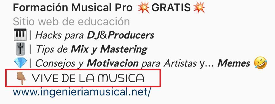 crecer en instagram como dj cantante productor músico artista ingenieria musical