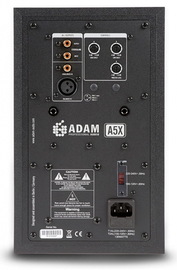 Monitores Adam A5X