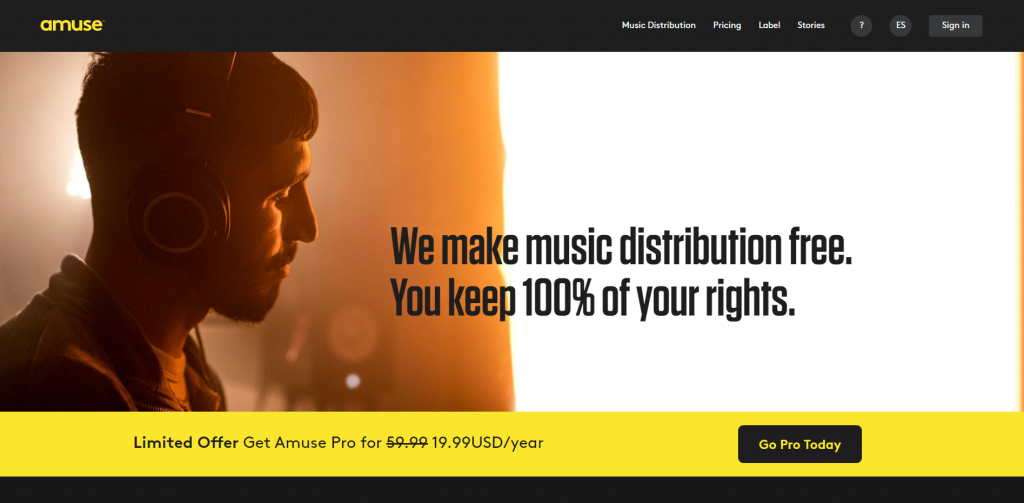 amuse mejor agregadora web spotify ingenieria musical